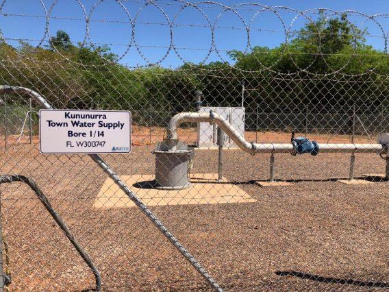 KNX Standby Borre Headworks & Fence