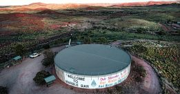 Marble bar RCC tank drone photo